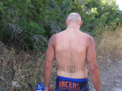 drop a few grams by getting rid of those dog tags in favor of a tattoo: